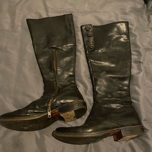 Fiorentini +baker Knee-high leather boots